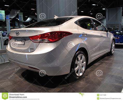 Hyundai Payment Center by Hyundai Elantra Sedan Editorial Stock Photo Image 18111423