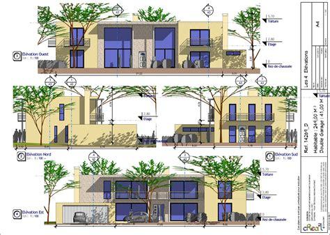Plan Grande Maison 4717 plan grande maison grande maison contemporaine d du