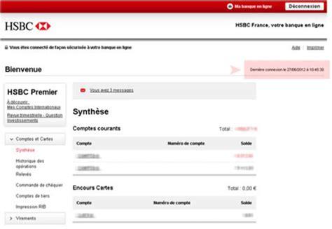 espace client hsbc ma banque en ligne   hsbc
