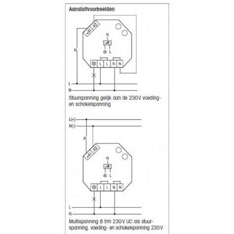 dubbele dimmer voor led l l r triac dimmer voor 230v led len geschikt voor