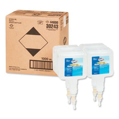 cloct clorox hand sanitizer touchless dispenser refill zuma