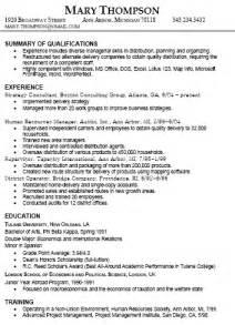 resume experience exle best resume exle resume deanna payson gra617