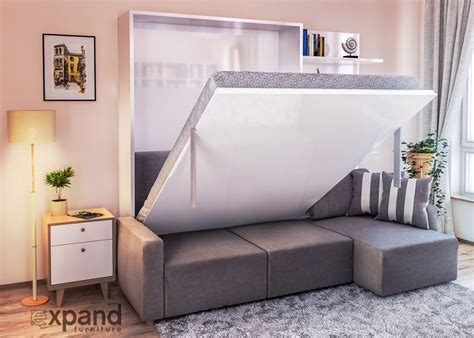 2 beds in 1 small space furniture for tight condo living expand