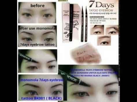 tattoo removal harga jual grosir monomola eyebrow eye brow tattoo harga murah
