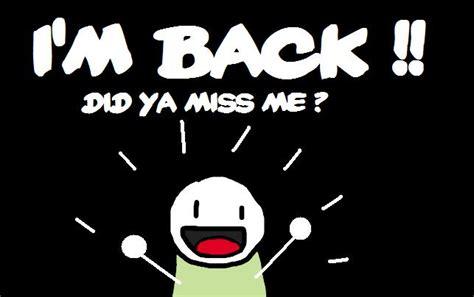I M Back i m back la vida en serie