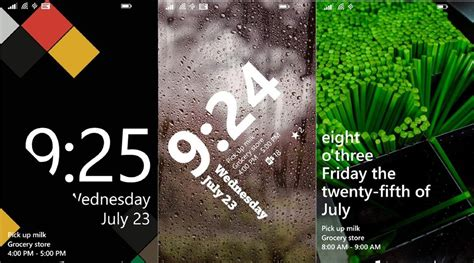 live lock themes windows phone live lock themes app for windows phone 8 1 now lets you
