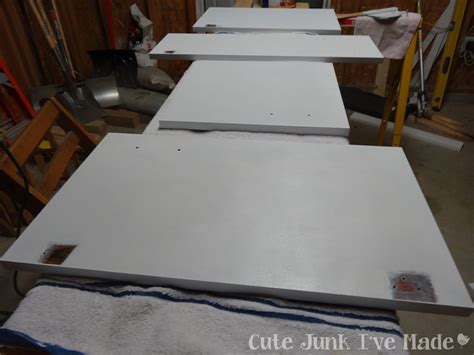 how to paint laminate cabinet doors cute junk i ve made how to paint laminate cabinets part