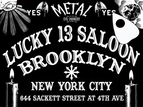 lucky saloon lucky 13 saloon