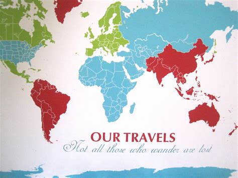 the world travels of map world travel map with pins roundtripticket me