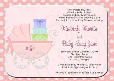 baby shower invitation wording high class baby