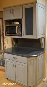 Chalk Paint Kitchen Cabinets Homeroad Chalk Painted Kitchen Cabinets