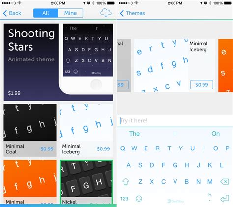 swift keyboard themes hack swiftkey for ios getting a new theme store soon