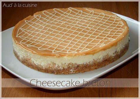 recette cuisine m馘iterran馥nne cheesecake breton pomme salidou aud 224 la cuisine