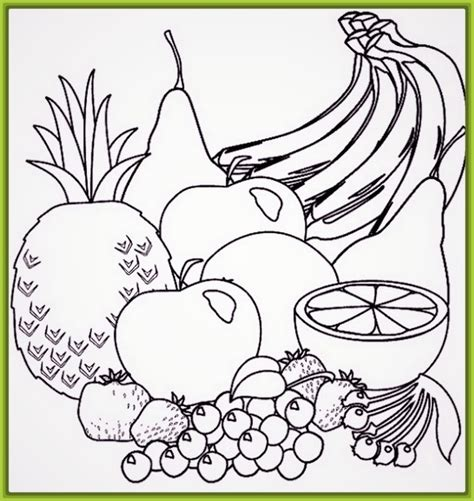 imagenes para pintar verduras imagenes de frutas para pintar cuadros coloridos