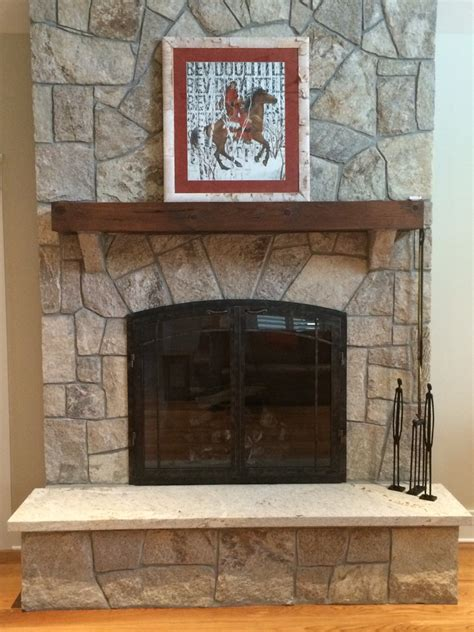 Wood Fireplace Doors by Outdoor Fireplaces Ironhaus