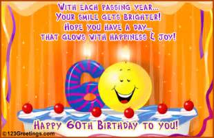 happy 60th birthday free milestones ecards greeting cards 123 greetings