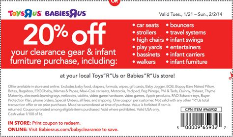 20 off babies r us printable coupon 2013 babies r us 20 off coupon 2014 2017 2018 best cars reviews