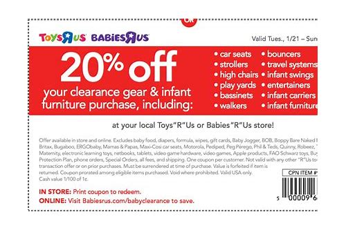 babies are us printable coupons 2018