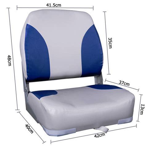 boat seats online australia buy set of 2 folding swivel boat seats grey blue