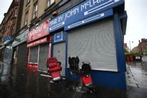 barber glasgow city centre was city centre barber shop set on fire by thief