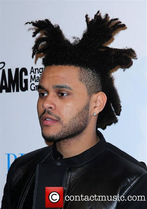 the weeknd hair style the weeknd s hair look like broccoli genius