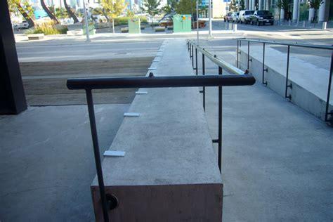 skateboard grind bench vancouver property maintenance services decorative anti skateboarding guards