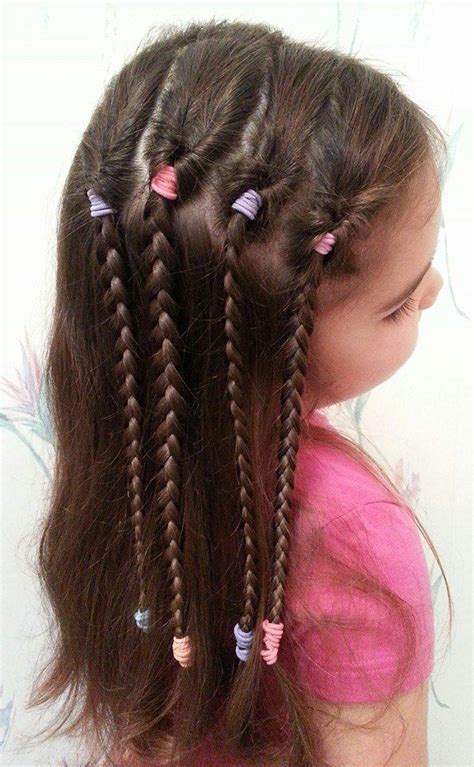cute hairstyles for long hair for kids and for 8 year oldsfor short hair 25 best ideas about easy kid hairstyles on pinterest