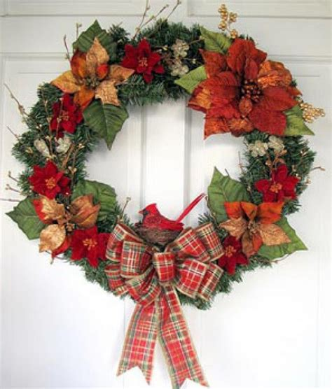 images of unique christmas wreaths unique christmas decorations how to make a poinsettia