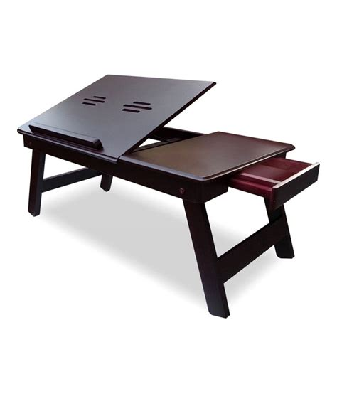 Laptop Table Desk Folding Laptop Table Buy At Best Price In India On Snapdeal