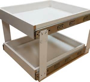 rollout drawer kit woodworking network