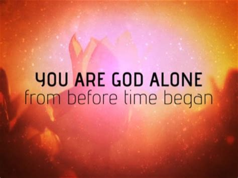 you are god alone | iworship | youth worker