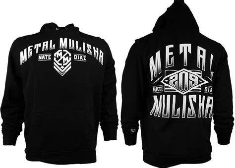Hoodie Metal Mulisha Fightmerch metal mulisha nate diaz clothing