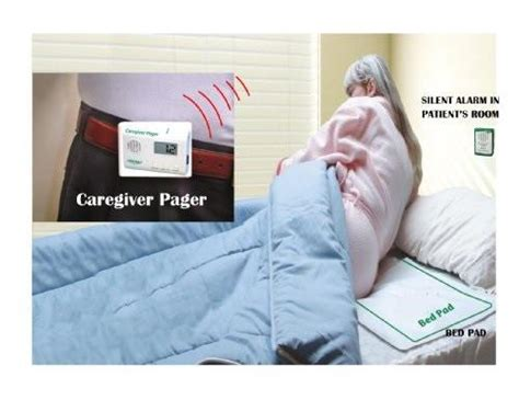 bed alarm for elderly recordable voice bed alarm monitor with long term sensor