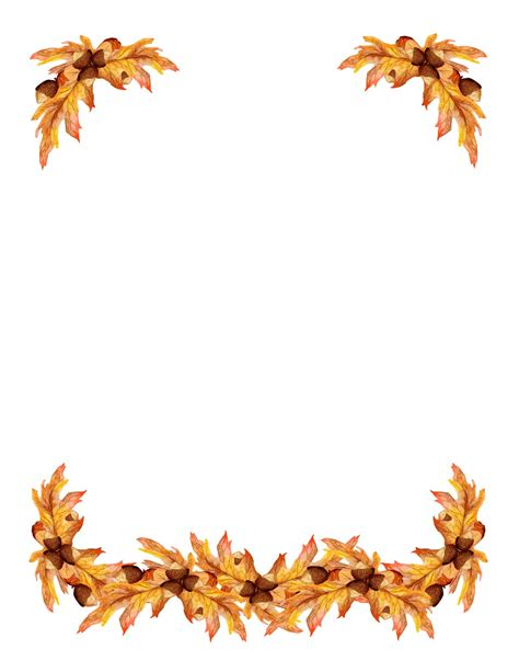 free printable fall leaves free clip art borders bing images backgrounds borders