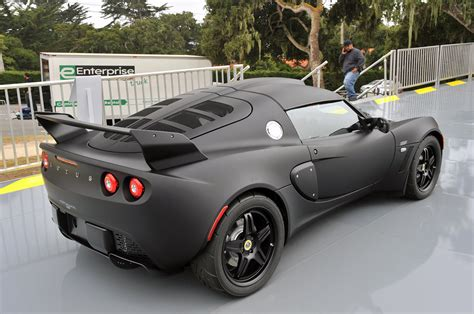 matte black lotus lotus exige matte black edition makes stealthy debut