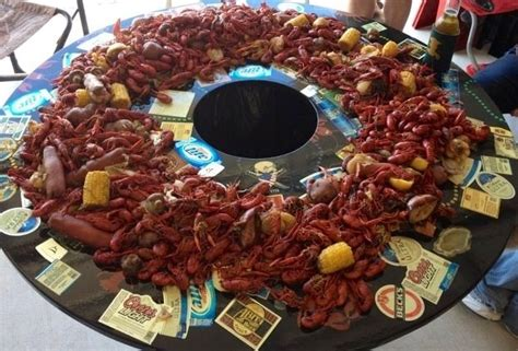 Cajun Crawfish Table by The Crawfish Table Now Time To Eat Louisiana Cajun Southern Charm Lots