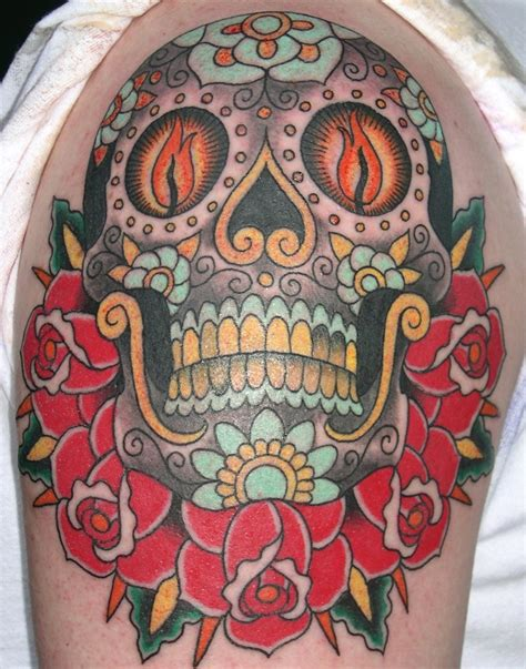 tattoo sugar skull rad tats sweet sugar skulls