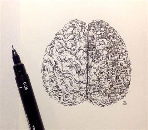 doodle brain brain doodle d r a w i n g s p a i n t i n g s