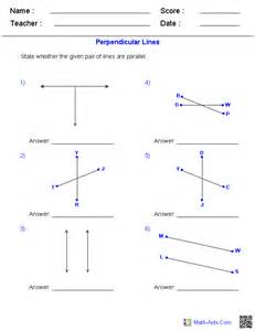 parallel and perpendicular slopes worksheet davezan
