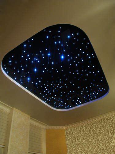 sternenhimmel beleuchtung decke lichtdekor de sternenhimmel lichtfaser glasfaser