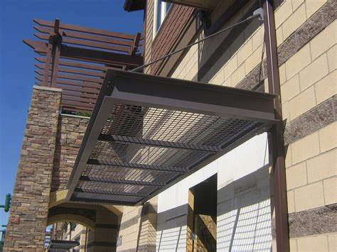 Metal Awning by Nuimage Specializes In Custom Metal Work In House Mill