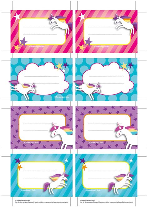 Etiquettes Licornes Unicorn Printables Pinterest Unicorns Planners And Filo Unicorn Label Template