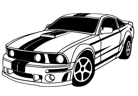 Bumble Bee Wall Stickers muscle car drawing clipart best