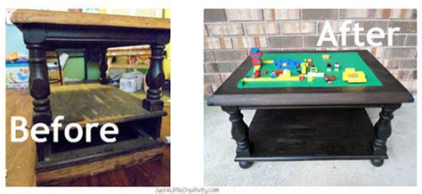 diy lego table cheap 5 diy ideas to recycle tables into and practical