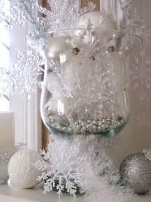 Winter Wonderland Snowflake Decorations - beautiful winter decor 7 winter wonderland snowflake centerpiece newsonair org