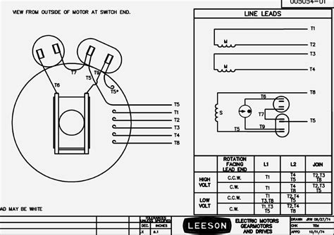 leeson 3hp electric motor wiring diagram wiring diagram