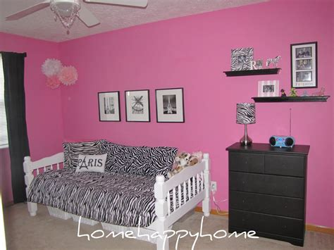 pink wall color with zebra pattern furniture for modern small idolza