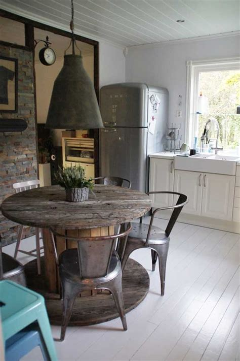 industrial chic kitchens rustic crafts chic decor