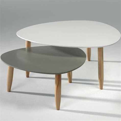 tables basses scandinaves table basse gigogne style scandinave sofamobili