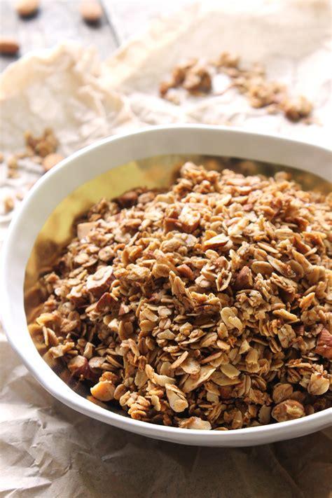 Granola Almond almond and coconut granola recipe dishmaps